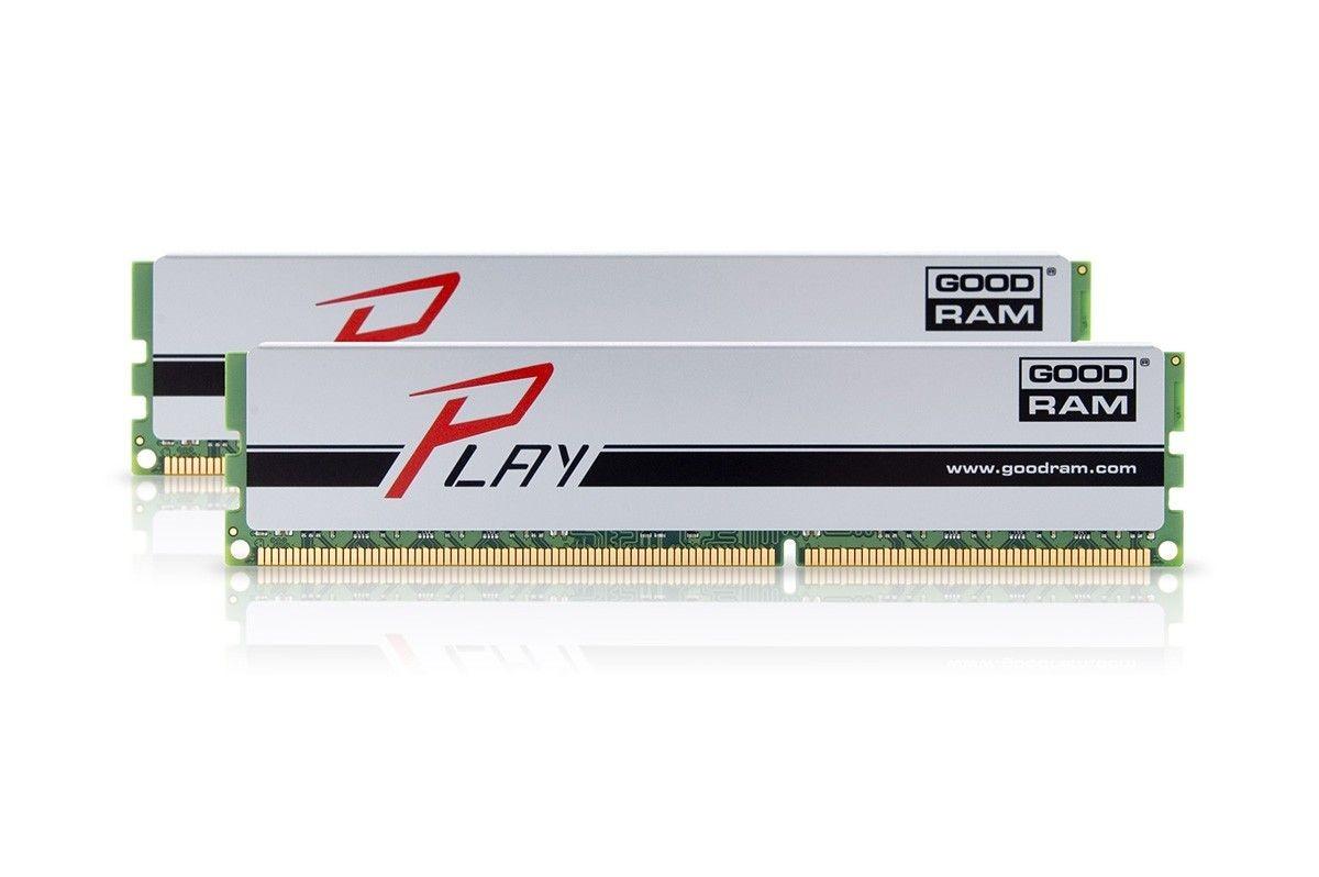 GoodRam DDR3 PLAY 16GB/1866 (2*8GB) SILVER 10-11-10-30