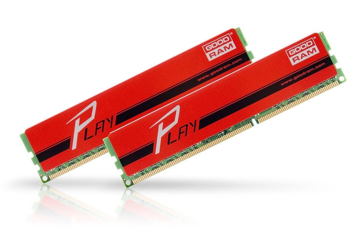 GoodRam DDR3 PLAY 16GB/1866 (2*8GB) RED 10-11-10-30