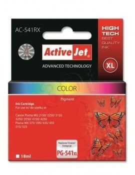 ActiveJet Tusz ActiveJet AC-541RX | color | 18 ml | Canon CL-541XL