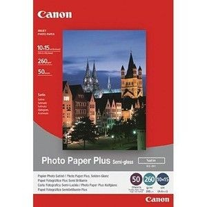Canon SG201 Photo Paper Plus Semi-glossy (260g, 10x15cm, 50ark)
