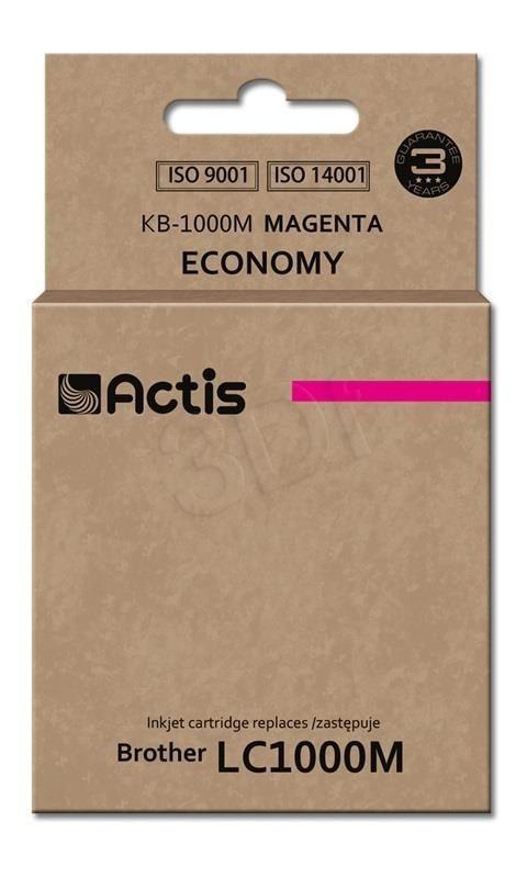 Actis KB-1000M tusz magenta do drukarki Brother (zamiennik Brother LC1000M) Standard