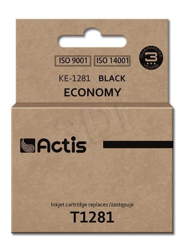 Actis Tusz Actis KE-1281 (do drukarki Epson zamiennik T1281 standard 15ml czarny)