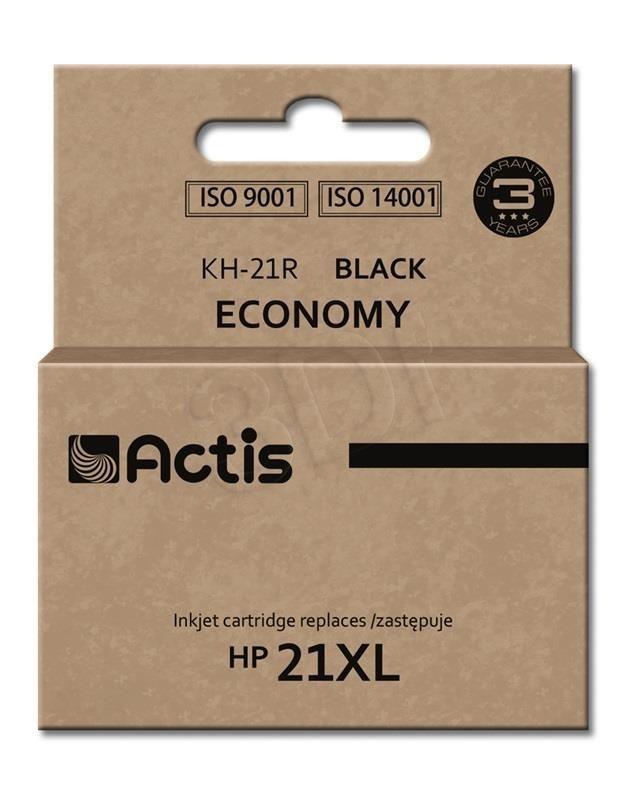 Actis Tusz Actis KH-21R (do drukarki Hewlett Packard zamiennik HP 21XL C9351A standard 20ml czarny)