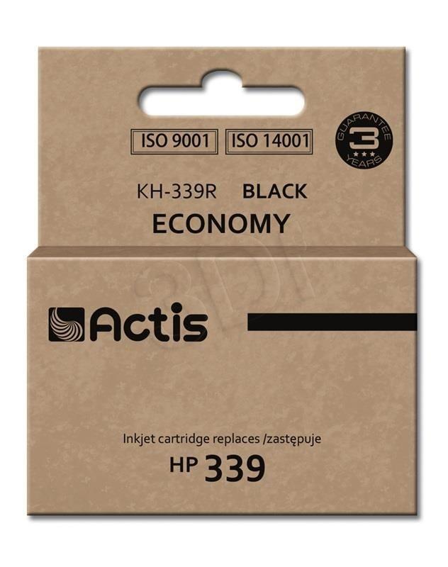 Actis Tusz Actis KH-339R (do drukarki Hewlett Packard zamiennik HP 339 C8767EE standard 35ml czarny)