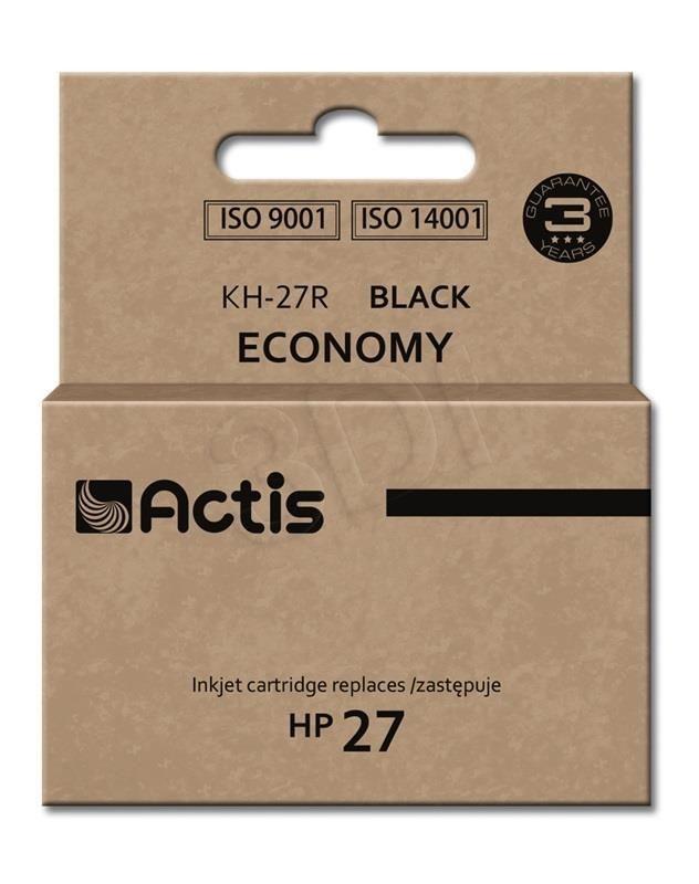 Actis Tusz Actis KH-27R (do drukarki Hewlett Packard zamiennik HP 27 C8727A standard 20ml czarny)