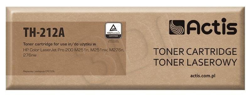 Actis Toner Actis TH-212A (do drukarki Canon Hewlett Packard zamiennik HP 131A/Canon CRG-731Y CF212A standard 1800str. yellow)