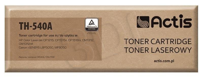 Actis Toner Actis TH-540A (do drukarki Canon Hewlett Packard zamiennik HP 125A/Canon CRG-716B CB540A standard 2200str. czarny)
