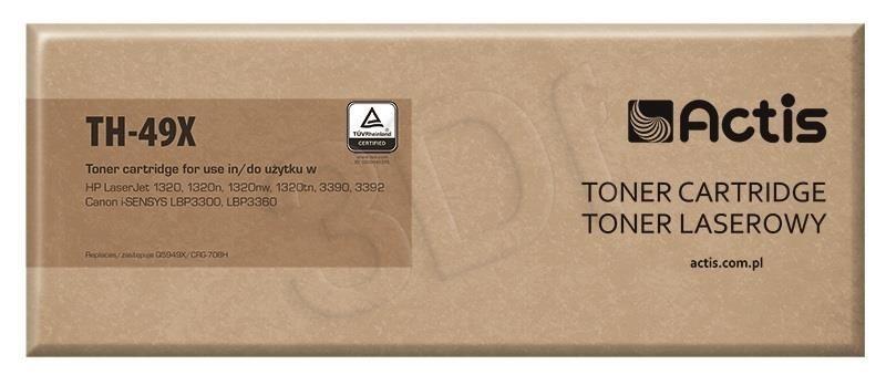 Actis Toner TH-49X (zamiennik Canon HP 49X CRG-708H Q5949X; Standard; 6 000 stron; czarny)