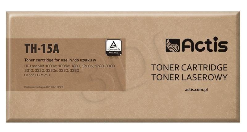Actis Toner Actis TH-15A (do drukarki Canon Hewlett Packard zamiennik HP 15A/Canon EP-25 C7115A standard 2500str. czarny)