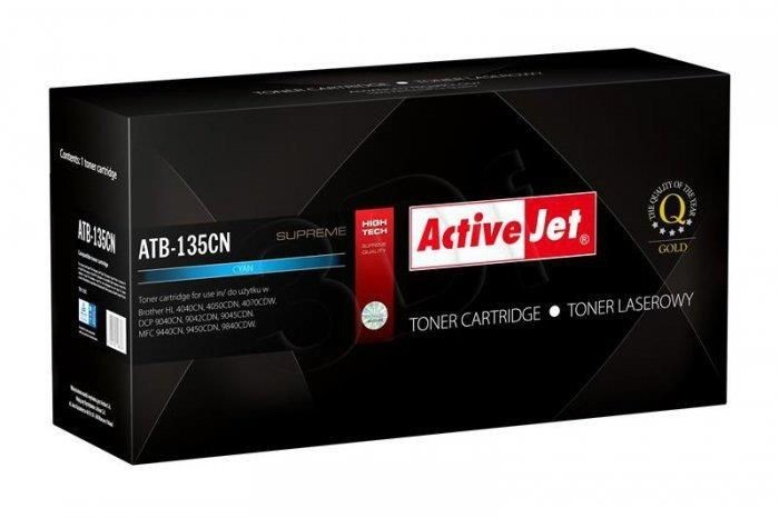 ActiveJet Toner ActiveJet ATB-135CN | Cyan | Brother TN-135C