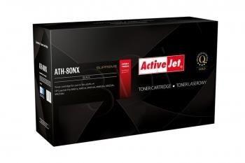 ActiveJet Toner ActiveJet ATH-80XN | Czarny | 6900 pp | HP CF280X (80X)