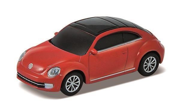 Autodrive Pamięć USB 2.0 8GB licencjonowany - VW Beetle czerwony
