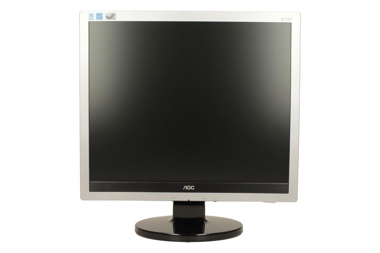 AOC Monitor AOC E719SDA 17, XGA, D-Sub/DVI, głośniki