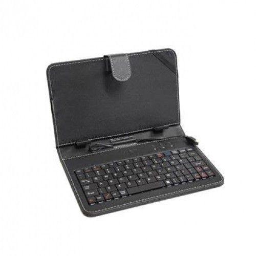 ART Etui+klawiatura USB micro do tabletu 7' AB-97