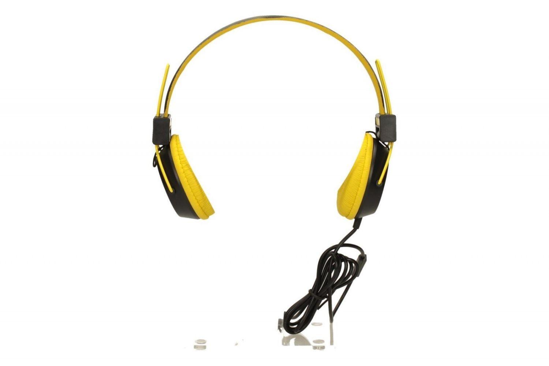 ModeCom Słuchawki nagłowne MC-400 CIRCUIT YELLOW