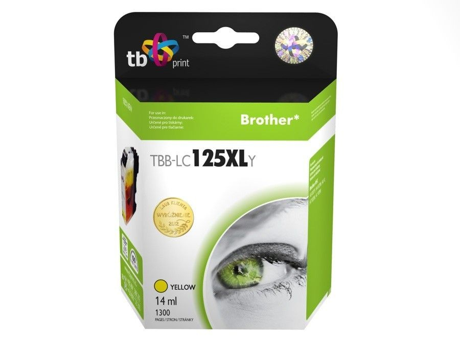 TB Print Tusz do Brother LC125XL TBB-LC125XLY YE