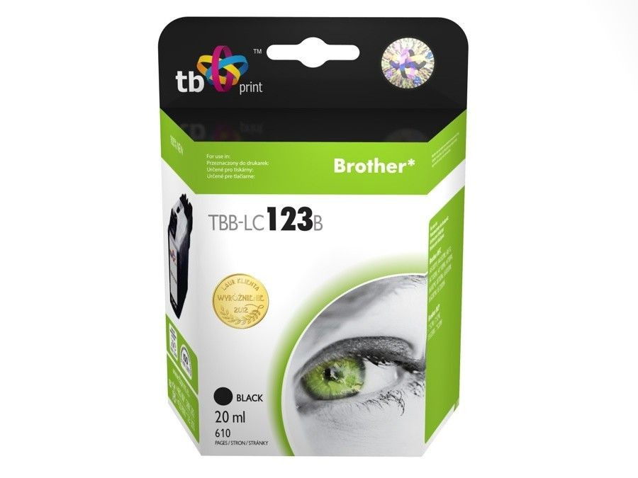 TB Print Tusz do Brother LC123 TBB-LC123B BK