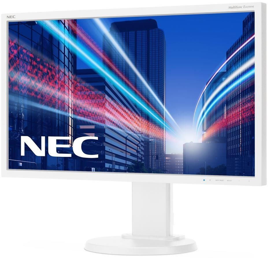 NEC Monitor E243WMi 23.8inch, IPS, DP/DVI, głośniki