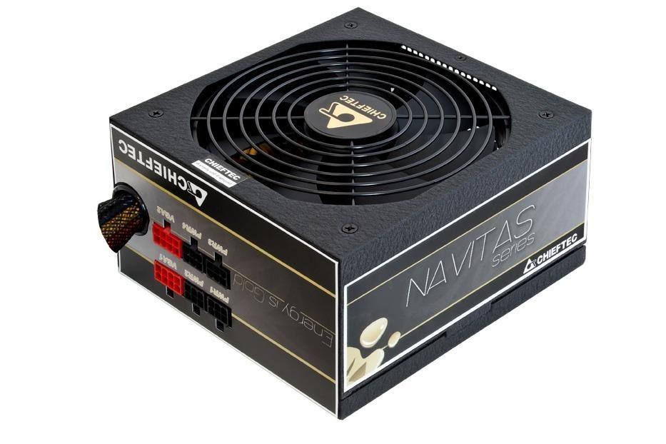 Chieftec zasilacz ATX serii NAVITAS - GPM-1000C, went. 14cm, 1000W retail