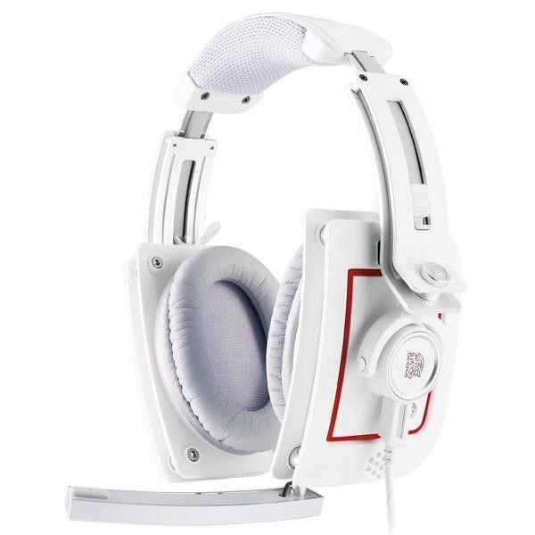 Thermaltake Tt eSPORTS Słuchawki dla graczy - Level 10M Headset Iron White
