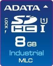 A-Data IDC3B MLC, SD Card, 8GB, 0-70C