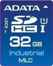 A-Data IDC3B MLC, SD Card, 32GB, 0-70C