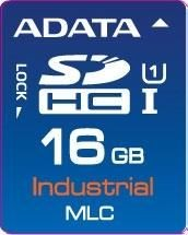 A-Data IDC3B MLC, SD Card, 16GB, (-40 to +85C)