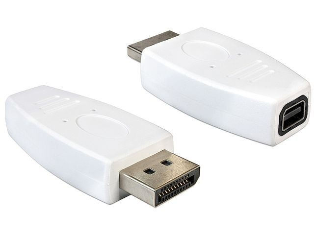 DeLOCK adapter Displayport (M) > Displayport mini (F)
