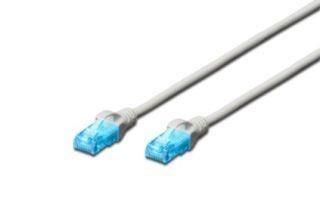 Digitus Kabel patch cord UTP, CAT.5E, szary, 10m, 15 LGW