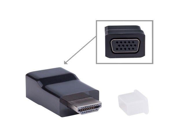 Gembird adapter HDMI-A(M)->VGA (F)