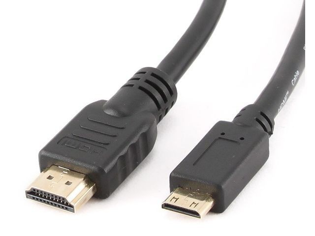 Gembird kabel HDMI-HDMI MINI (A-C) V1.4 High Speed Ethernet 1.8M pozłacane końce