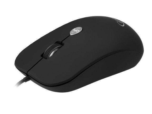 Gembird mysz optyczna USB, 1600 DPI, USB, czarna