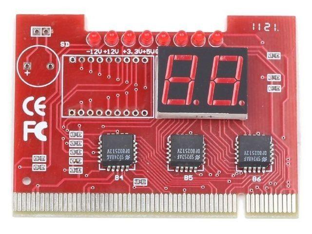 Gembird Kontroler PCI Tester Płyt Głównych