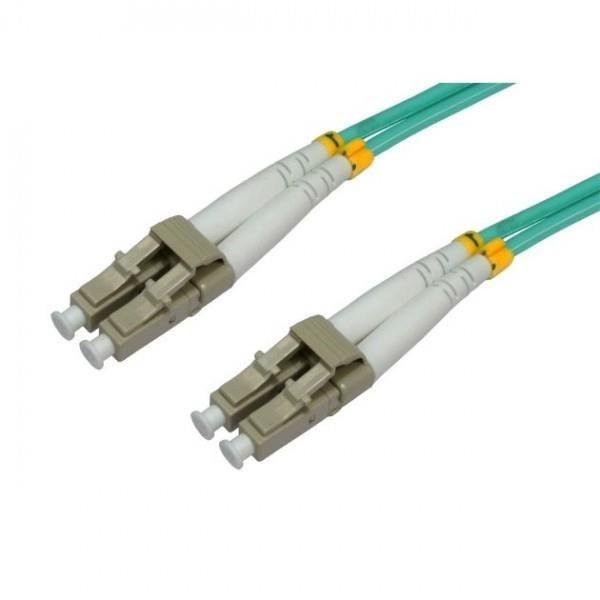 Intellinet Network Solutions Światłowód krosowy LC-LC duplex 1m 50/125 OM3 wielomodowy