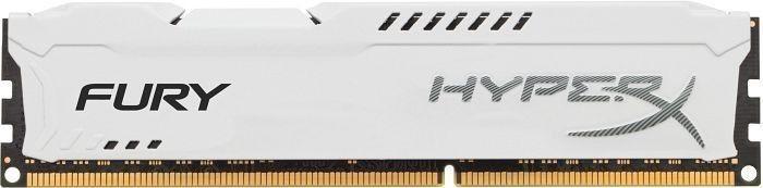 Kingston DDR3 Fury 4GB/ 1600 CL10 WHITE