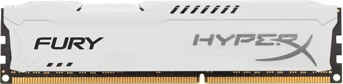 Kingston 8GB 1600MHz DDR3 CL10 DIMM HyperX Fury White Series