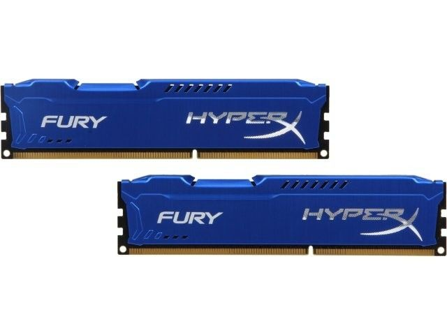 Kingston 2x4GB 1333MHz DDR3 CL9 DIMM HyperX Fury Series