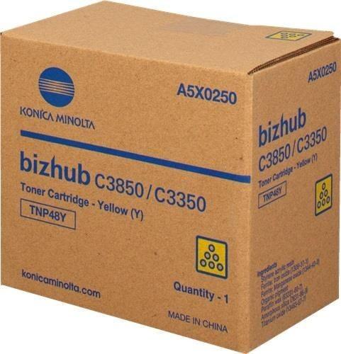 Konica Minolta Toner TNP-48Y   10000 str   Yellow   Bizhub C3350 C3850