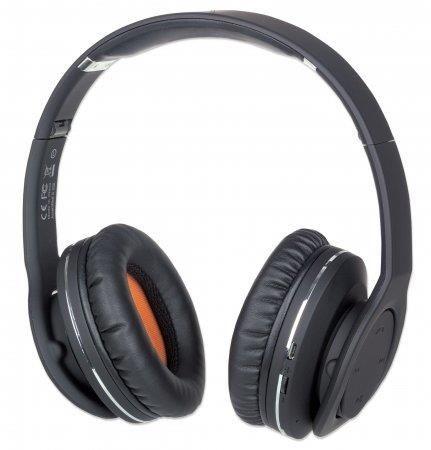 Manhattan Słuchawki stereo bluetooth Fathom, NFC, mikrofon z redukcją szumów