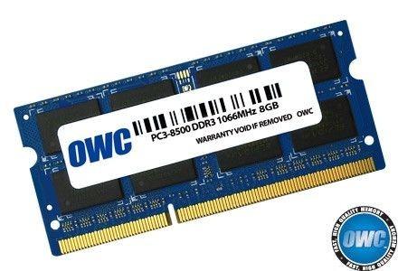 OWC SO-DIMM DDR3 8GB 1066MHz CL7 Apple Qualified