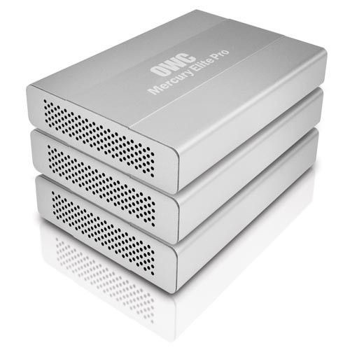 OWC Obudowa na HDD - Mercury Elite Pro mini (USB3.0, FW800, HDD 2,5'), aluminium