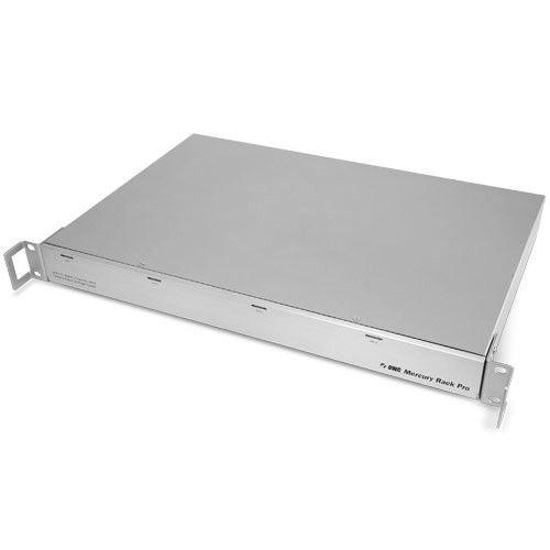 OWC JBOD - Mercury Rack Pro RAID 0,1,3,5,10 (1U, 4 Bay, SATA, USB3.0, FW800, eSATA)