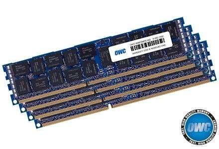 OWC DDR3 128GB (4x32GB) 1333MHz CL9 ECC Apple Mac Pro