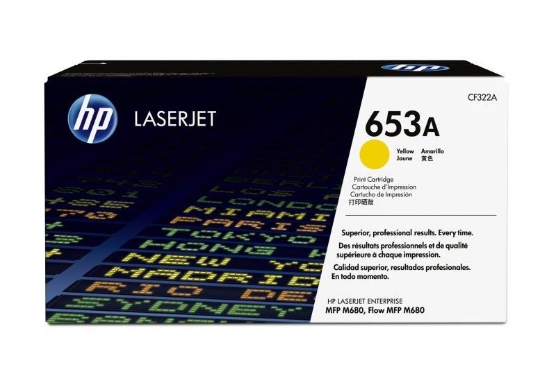 HP Toner HP 653A yellow | 16000str | CM1415fn/CP1525nw