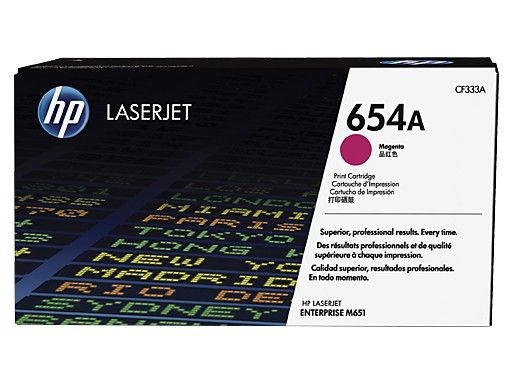 HP Toner HP 654A magenta | 15000str | ColorLJ Enterprise M651
