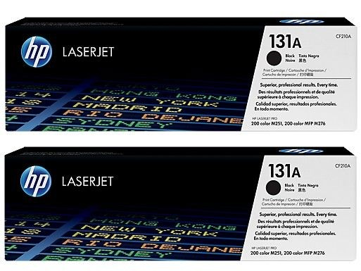 HP Toner HP 131X black 2pack | LJ M276