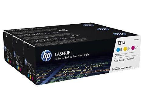 HP Toner HP 131A Tri-pack CMY | LJ M276
