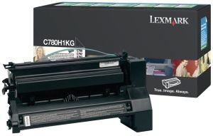 Lexmark toner black (6000str, C780/C782)