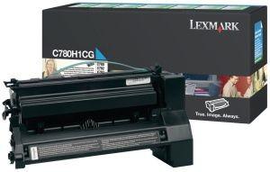 Lexmark toner cyan (6000str, C780/C782)