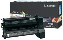 Lexmark toner yellow (10000str, C780/C782)